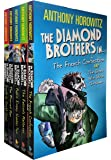 Diamond Brothers 5 Books Collection Pack Set with 7 Titles (Greek Who Stole xmas, Blurred Man, I Know What You Did Last…