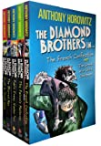 Diamond Brothers 5 Books Collection Pack Set with 7 Titles (Greek Who Stole xmas, Blurred Man, I Know What You Did Last Wednesday, French Confection , South by South East, Falcons Malteser, Public Enemy Number Two)