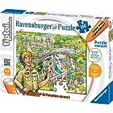 Ravensburger - 00553 - Tiptoi Puzzle - Au Zoo - 100 pièces