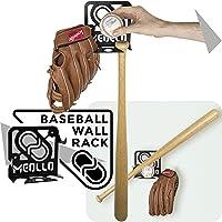 Support mural rangement pour batte de baseball (100% Acier)