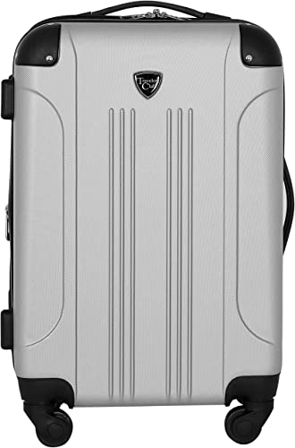 Travelers Club 20 Chicago Expandable Spinner Carry-On Luggage