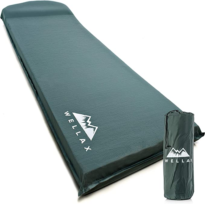 WELLAX UltraThick Camping Mat for Backpacking