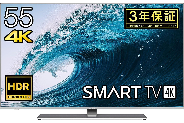 ハイセンス Hisense 55V型 液晶 テレビ 55A6500 4K HDR対応 直下型LED  2018年モデル B07HGD9XD7  55型
