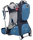 Osprey 中性 珀蔻白金版AG Poco AG Plus 26 蓝色 均码 婴儿背架 城市户外徒步婴儿儿童背架反重力背负系统背板可调节带儿童安全带耐磨舒适带遮阳罩带娃出行必备 三年质保终身维修(两种LOGO随机发)