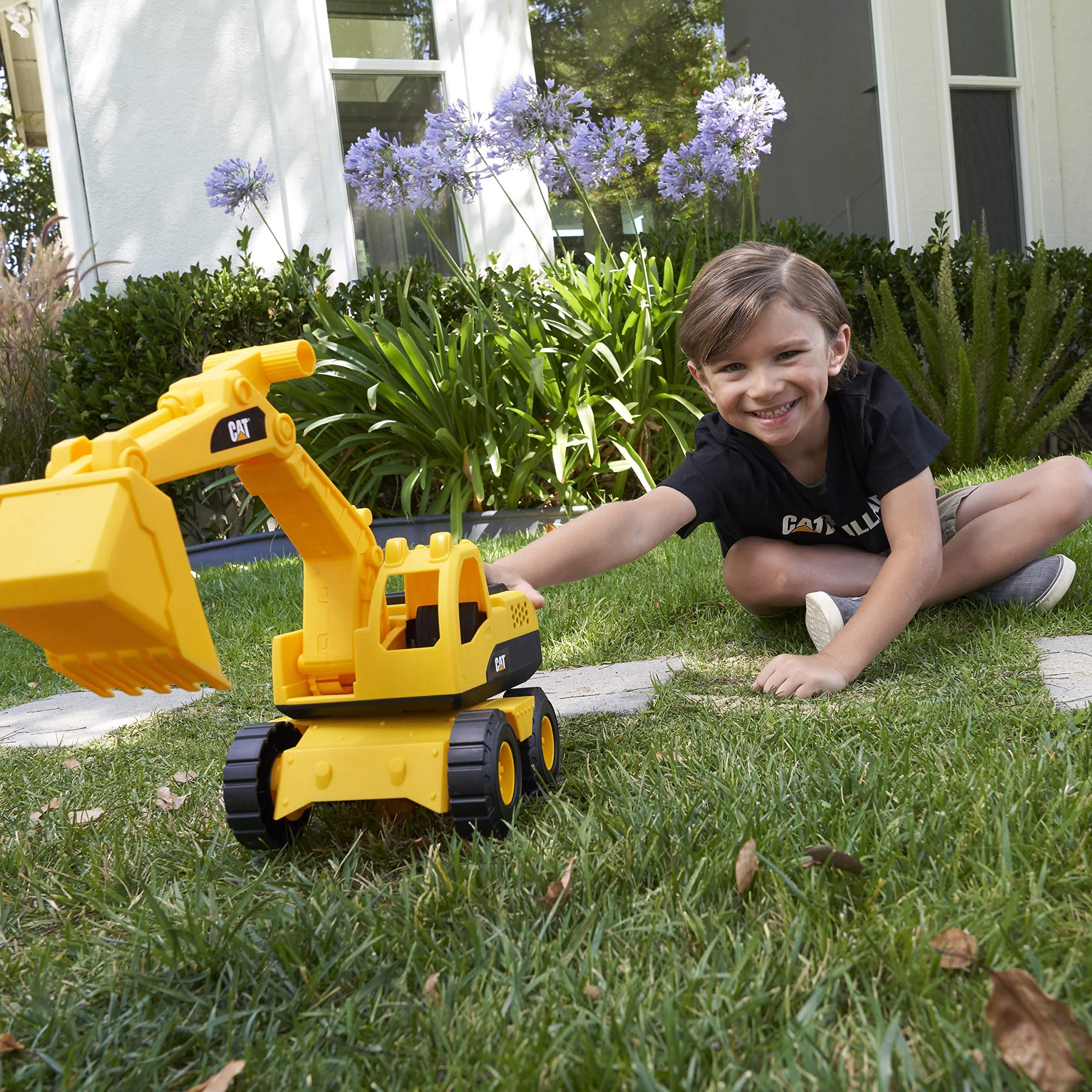 "Cat Construction 15"" Toy Excavator"