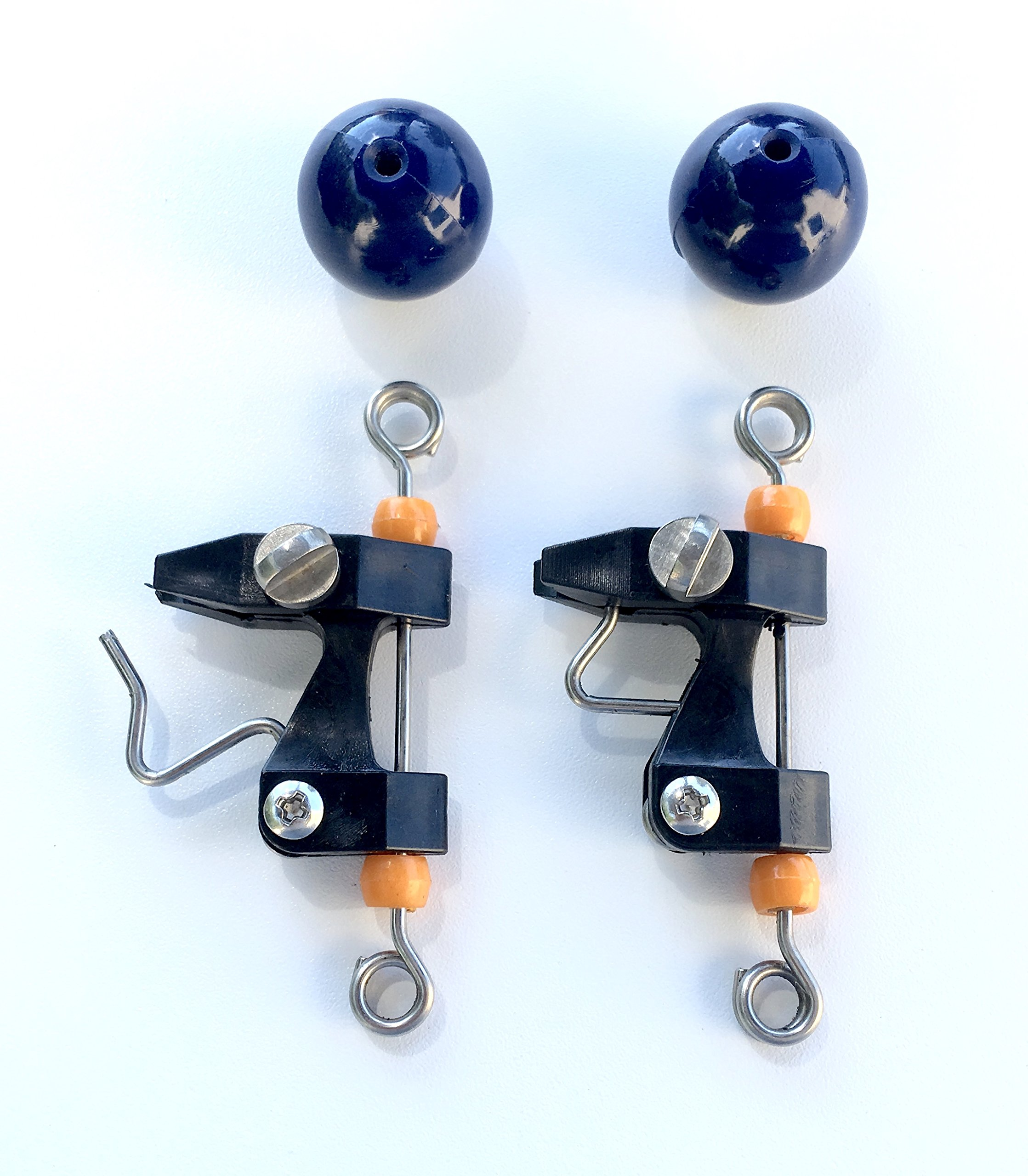 Outrigger Clips and Blue Stop Balls