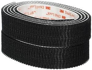 """3M RF6741 1"""" x 4 feet Black Extreme Fastener"""