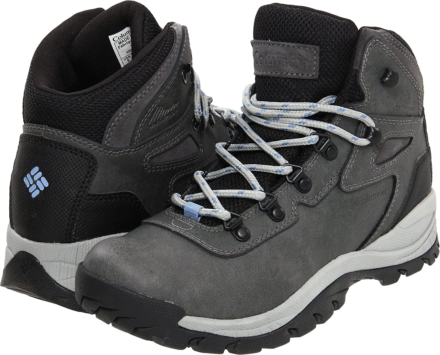 Columbia Women's Newton Ridge Plus Hiking Boot B073V8PTMG 9.5 B(M) US|Quarry, Cool Wave
