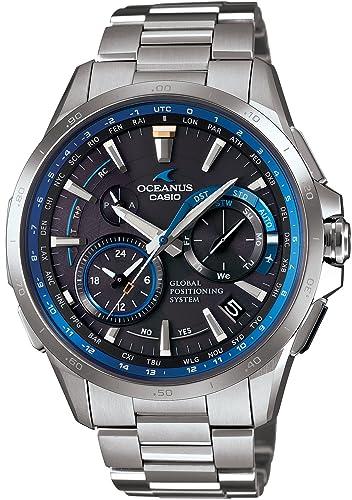 Casio OCEANUS ocw-g1000 - 1 AJF GPS híbrido Waveceptor Hombres del reloj: Amazon.es: Relojes