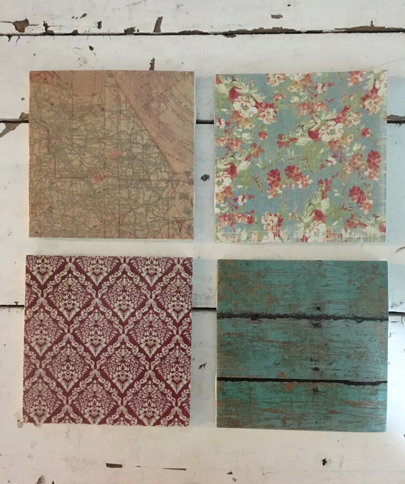 Handmade Coasters Drink Coasters Decorative by TheRunningStitc​hCo