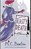 Hasty Death (Edwardian Murder Mysteries Book 2)
