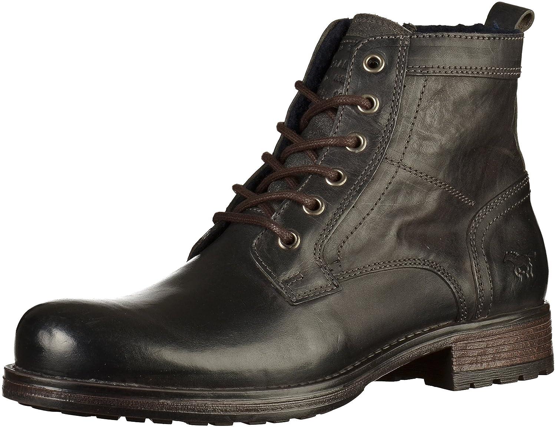 Mustang Herren 4865 507 900 Klassische Stiefel Grau