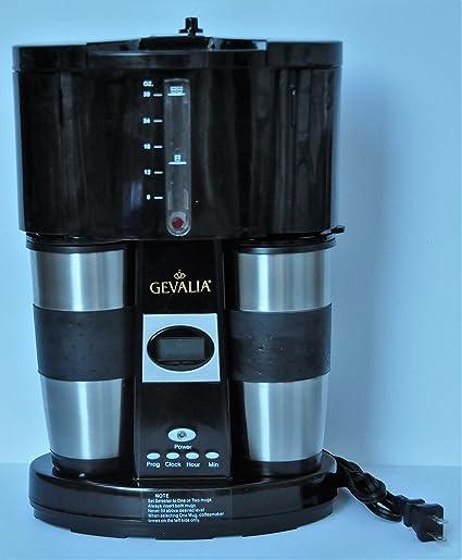 Amazoncom Gevalia Kaffe Programmable Coffee For Two Coffee Maker