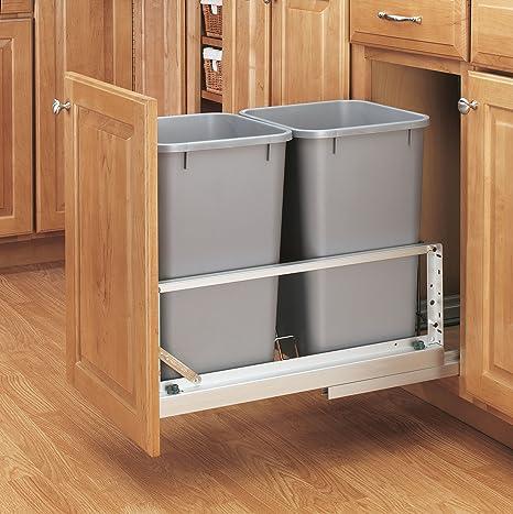 Amazon.com: Rev-A-Shelf - Recipiente para residuos de 27 ...