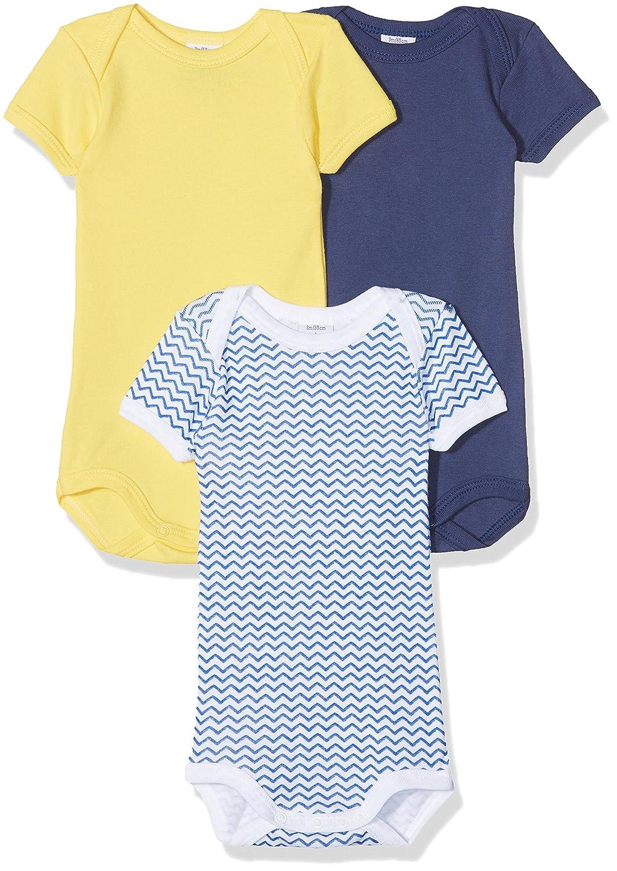Petit Bateau Conjunto de Ropa Interior para Bebé s (Pack de 3) Conjunto de Ropa Interior para Bebés (Special Lot 00) 86 (Tamaño del Fabricante:24M)(Pack de 3) 27678