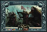 Asmodee Italia Song of Ice and Fire Large ASCE Umber Expansion with Gorgeous Miniature, Colour, 10410