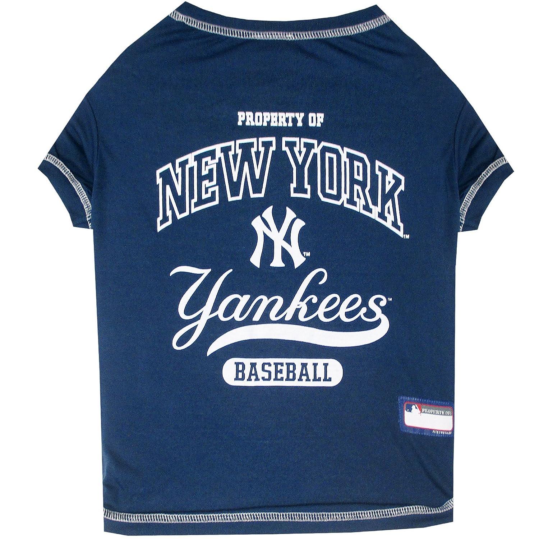 Amazon MLB NEW YORK YANKEES Dog T Shirt X Small Licensed