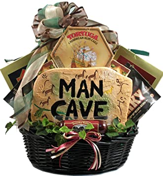 Amazon.com : Gift Basket Village Man Cave Munchies Gift Basket ...