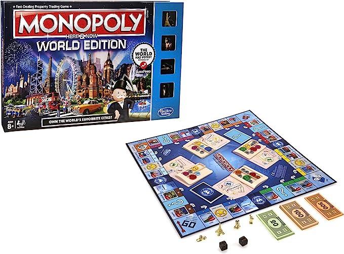 Monopoly World Edition: Amazon.es: Juguetes y juegos