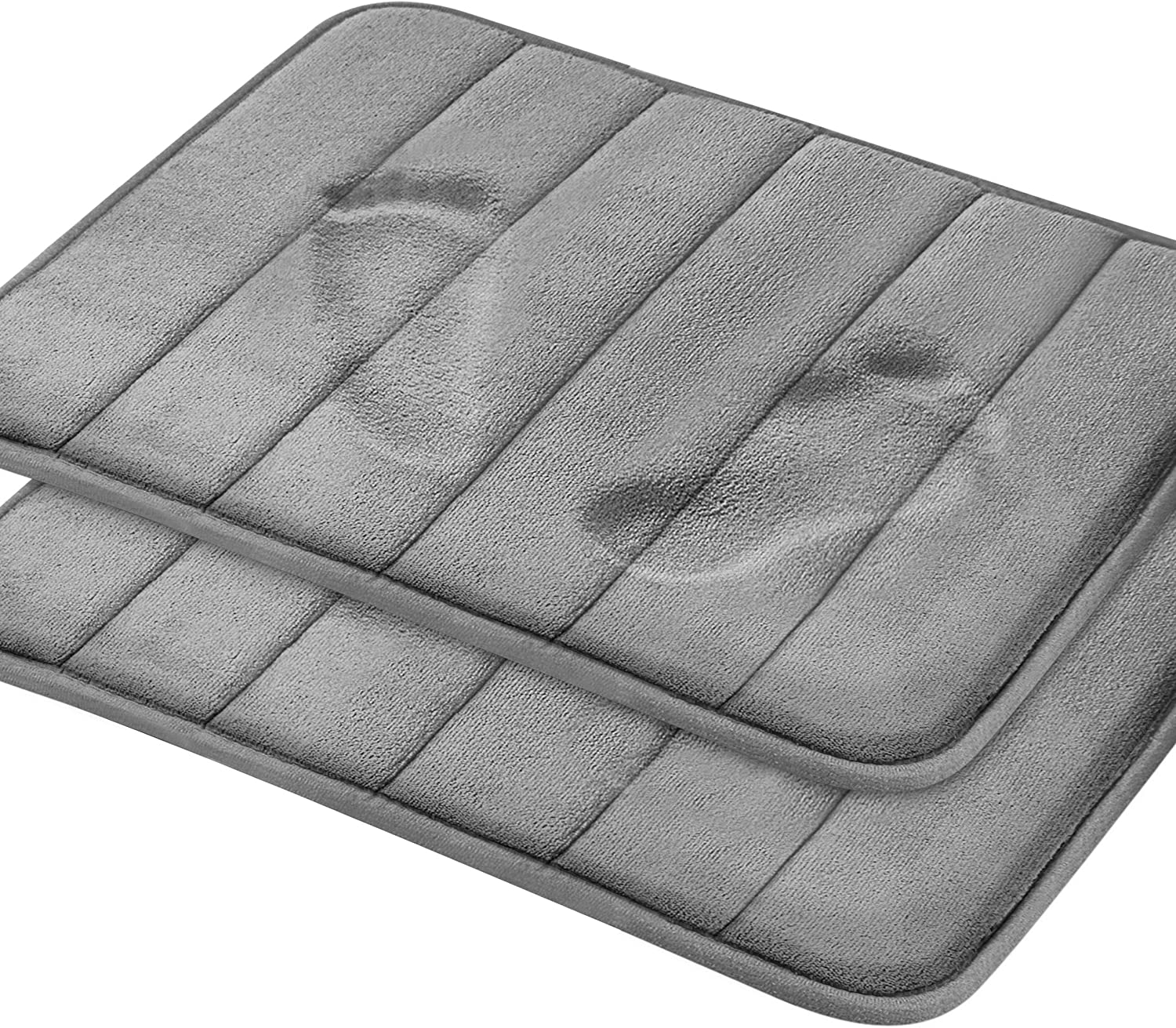 Amazon Com Magnificent Memory Foam Bath Mat 2 Pack 17 X 24