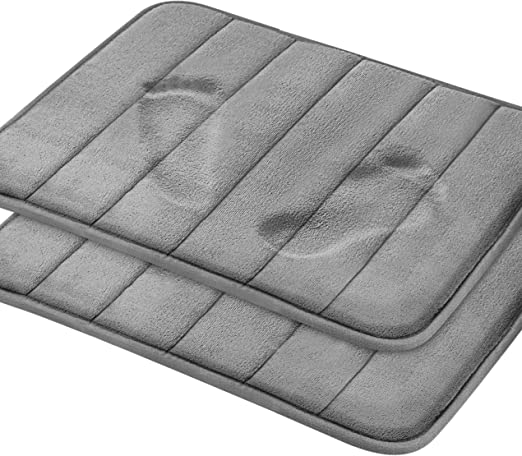 Amazon Com Magnificent Memory Foam Bath Mat 2 Pack 17 X 24