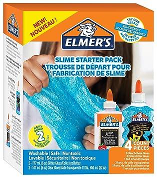 Elmers glue kit clear school glue blue glitter glue 4 count elmers glue kit clear school glue blue glitter glue solutioingenieria Images