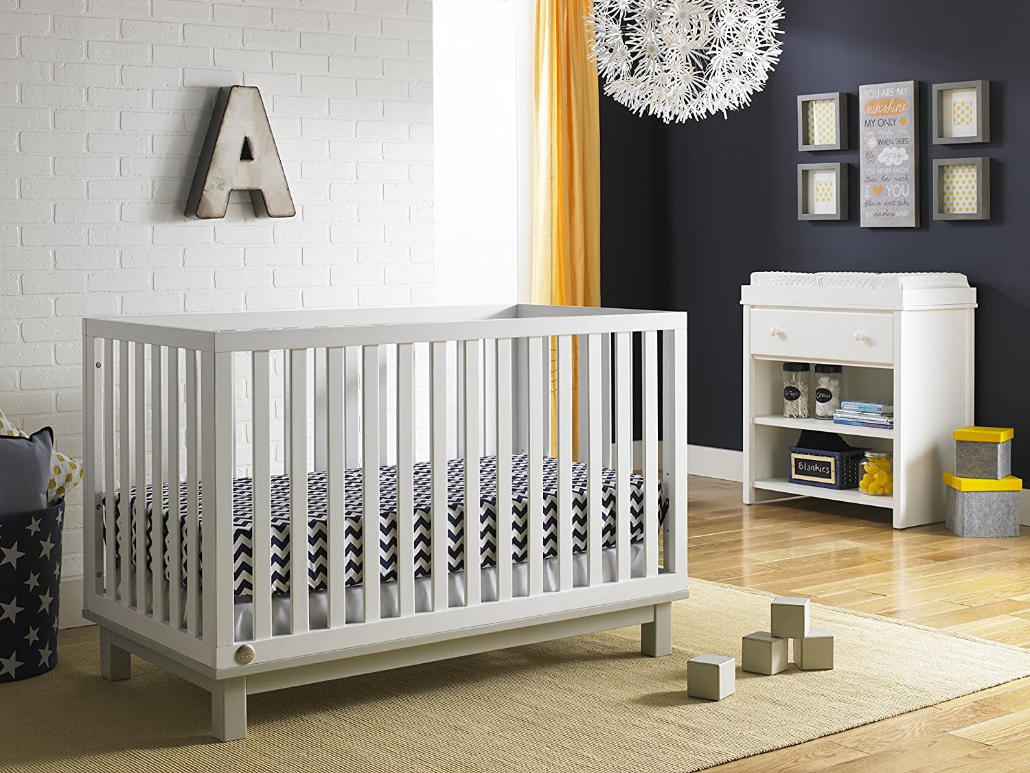 grey cribs riley misty com amazon price fisher crib dp depot snow white baby in convertible