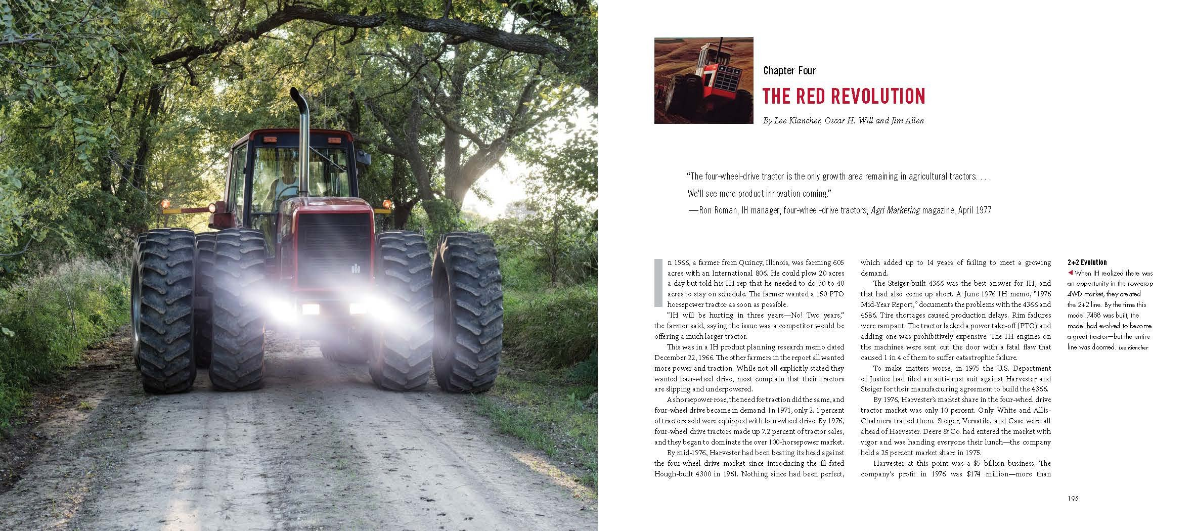 Red 4WD Tractors by Octane Press (Image #2)