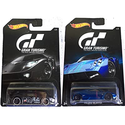 Hot Wheels 2016 Gran Turismo Ford GT LM & Pagani Huayra 2-Car Bundle Set: Toys & Games