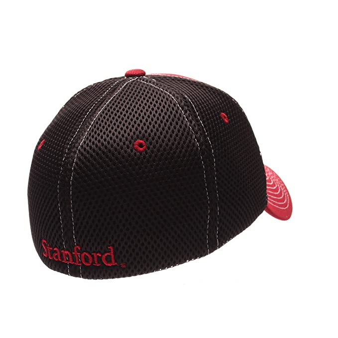 newest 54a22 a492c ... shopping reduced amazon zephyr ncaa stanford cardinal mens rally z fit  cap x large cardinal black