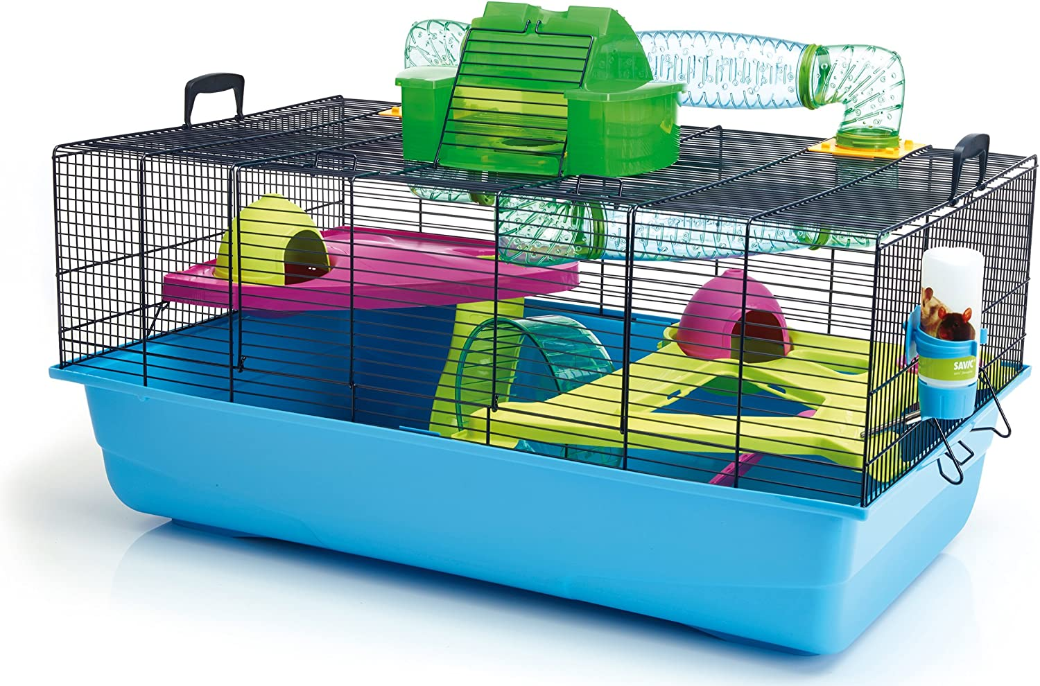Lixit Animal Care Savic Hamster Heaven Metro Cage (4-Pack)