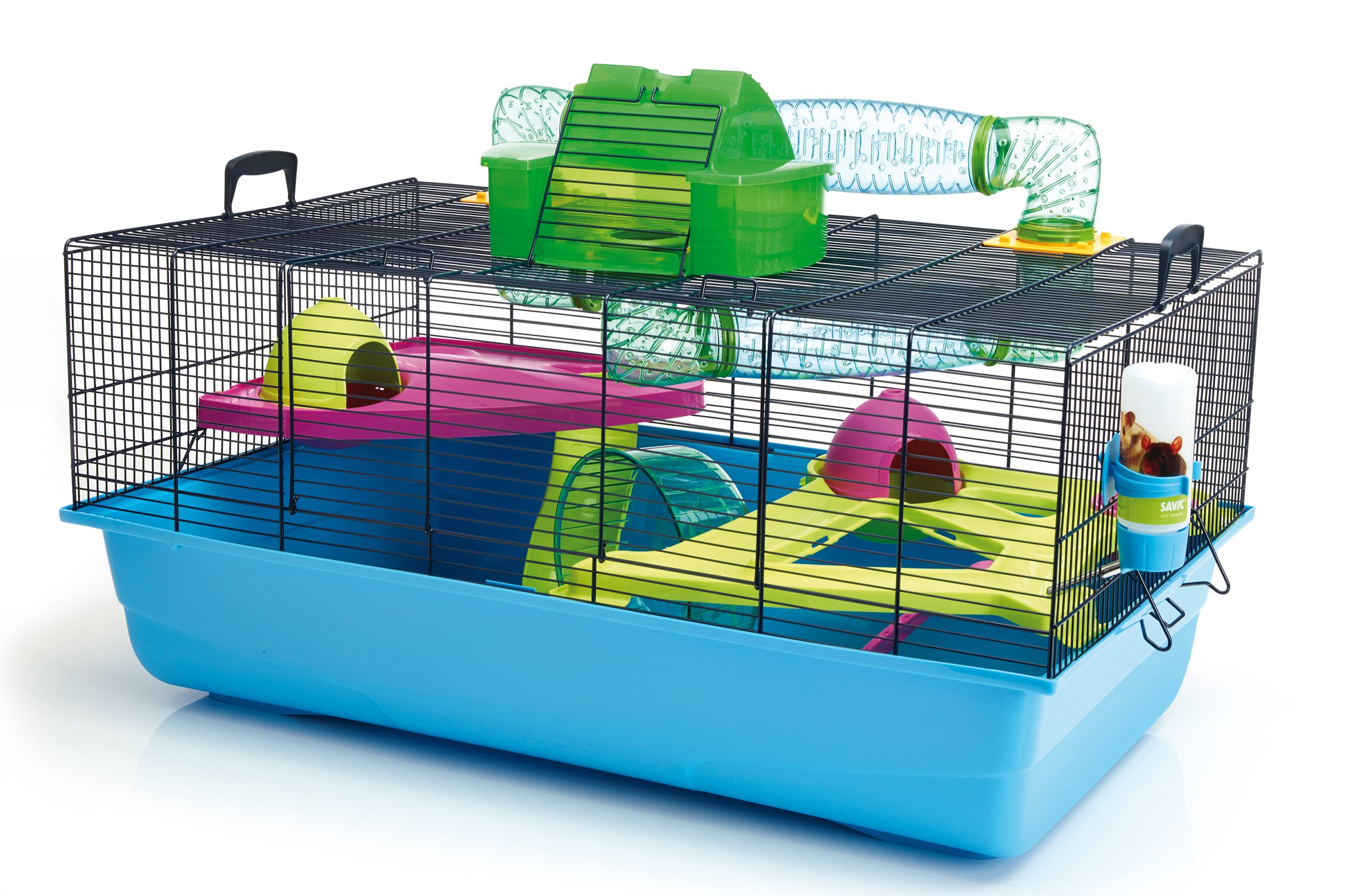 Lixit Animal Care Savic Hamster Heaven Metro Cage by Lixit Animal Care