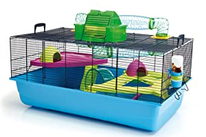 Lixit Animal Care Hamster Heaven Metro Cage