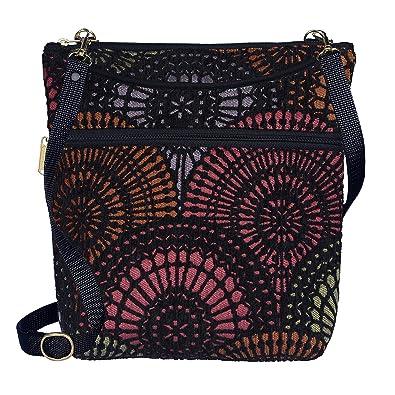 532960387 Danny K Women's Tapestry Bag Crossbody Handbag, Maggie Purse Handmade in the  USA (Ardmore