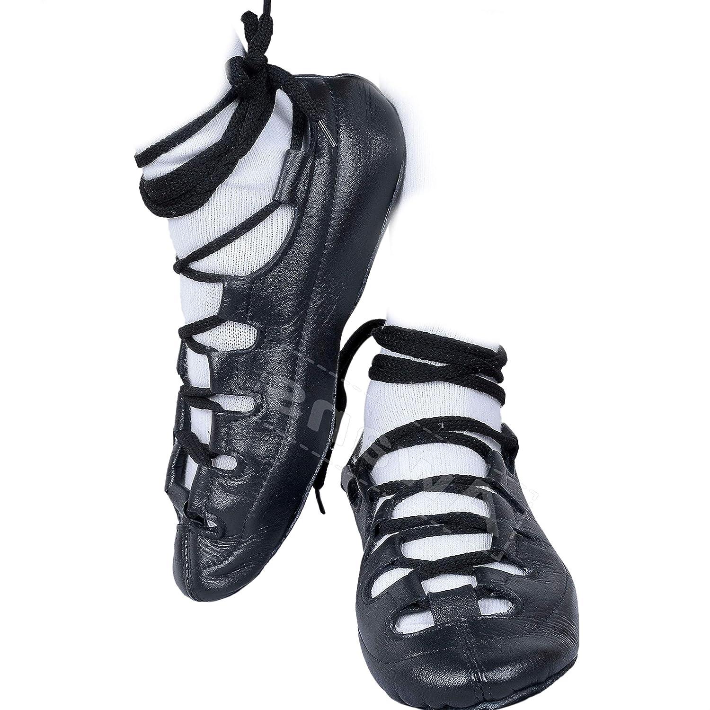 Tds Irish Dance Pumps, Chaussures de Danse pour Fille Noir Noir