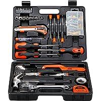 طقم ادوات يدوية من بلاك +ديكر (126 قطعة)، BMT126C، ارتفاع 68 * عرض 270 * عمق 350 ملم، برتقالي/اسود اللون، ضمان المنتج…