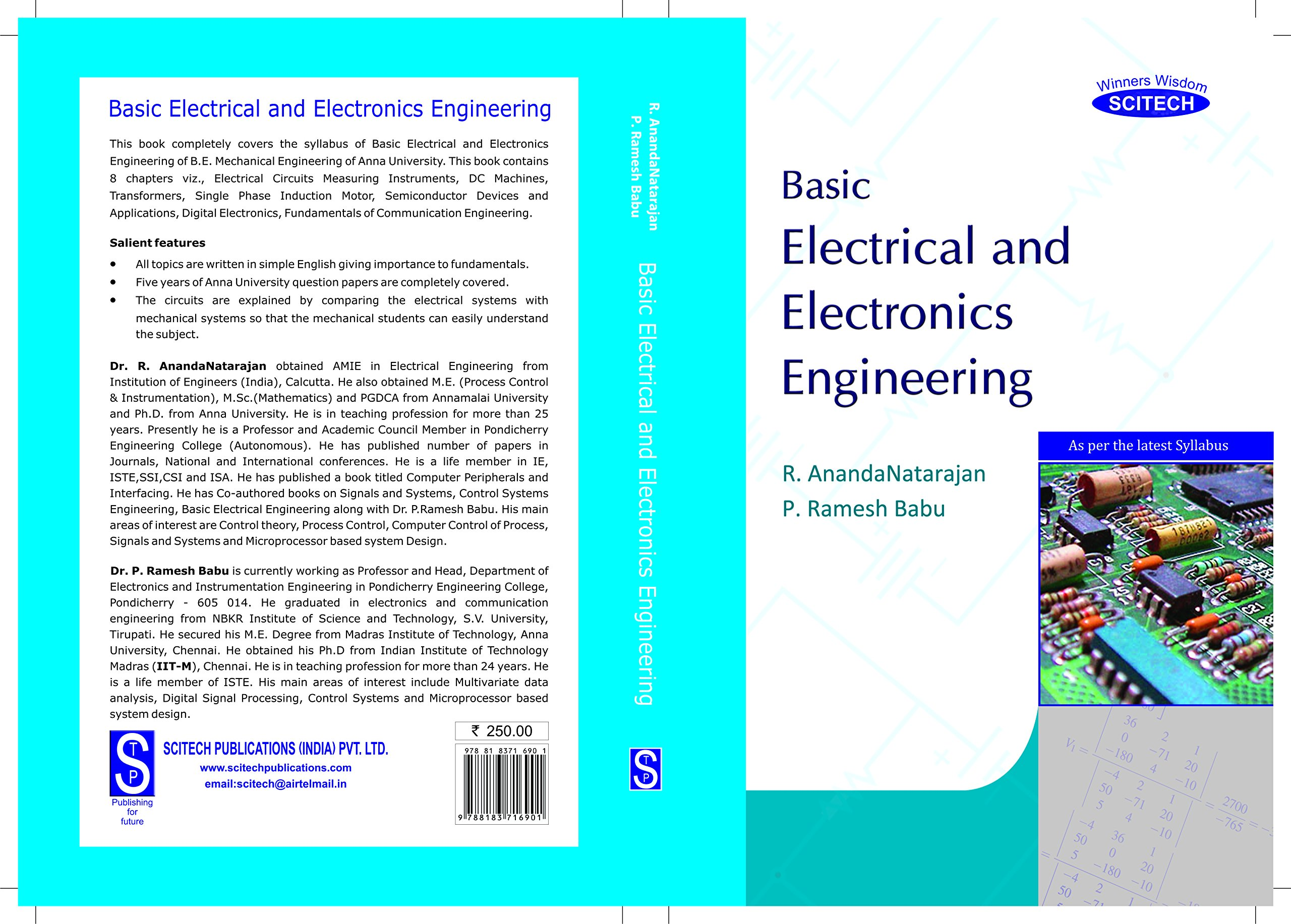 Buy Basic Electrical and Electronics Engineering Book Online at Low ...