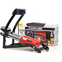 Premium double barrel foot air pump with manometer 10 BAR 140PSI HEYNER Pedalmax