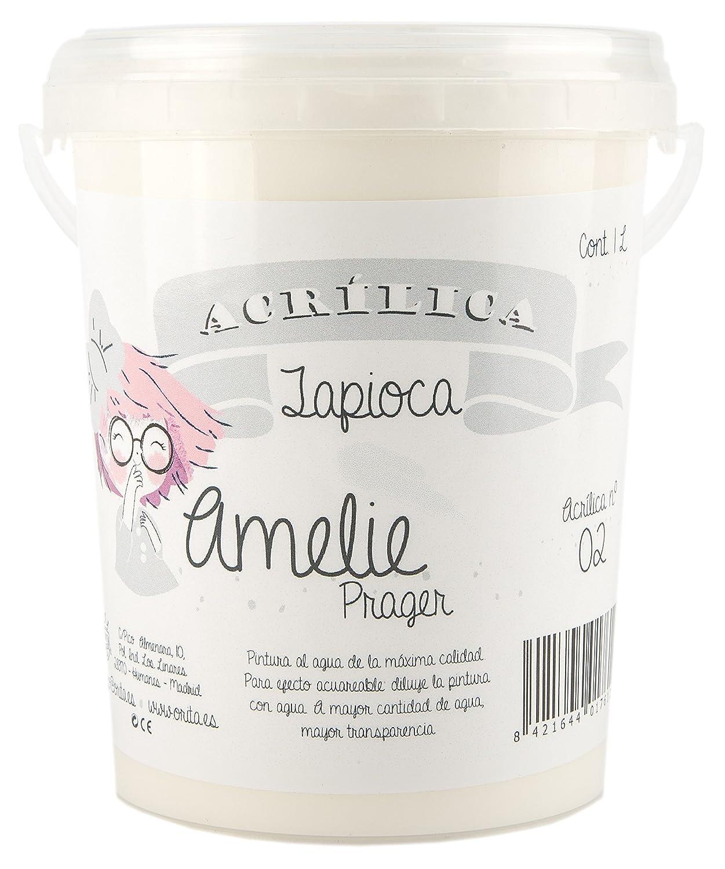 Amelie Prager 1L/02 Acrylfarbe, Tapioca, 1000 ml Orita