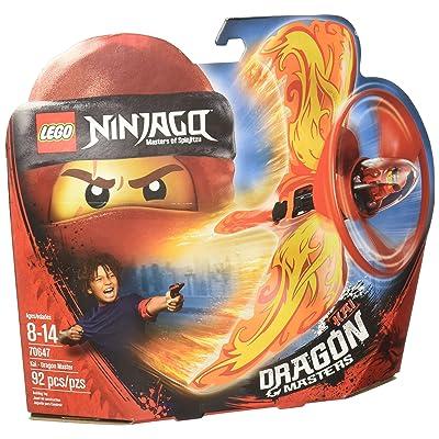 LEGO NINJAGO Kai - Dragon Master 70647 Building Kit (92 Piece): Toys & Games