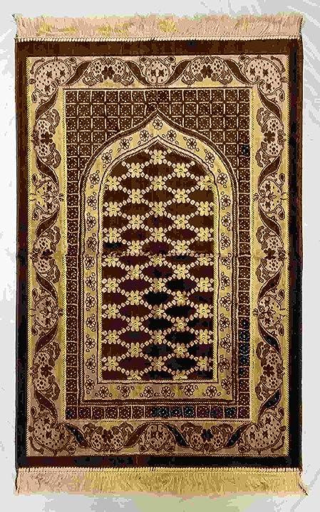 Islamic Prayer Rug Made In Turkey   Muslim Prayer Mat Janamaz For Salah  Namaz