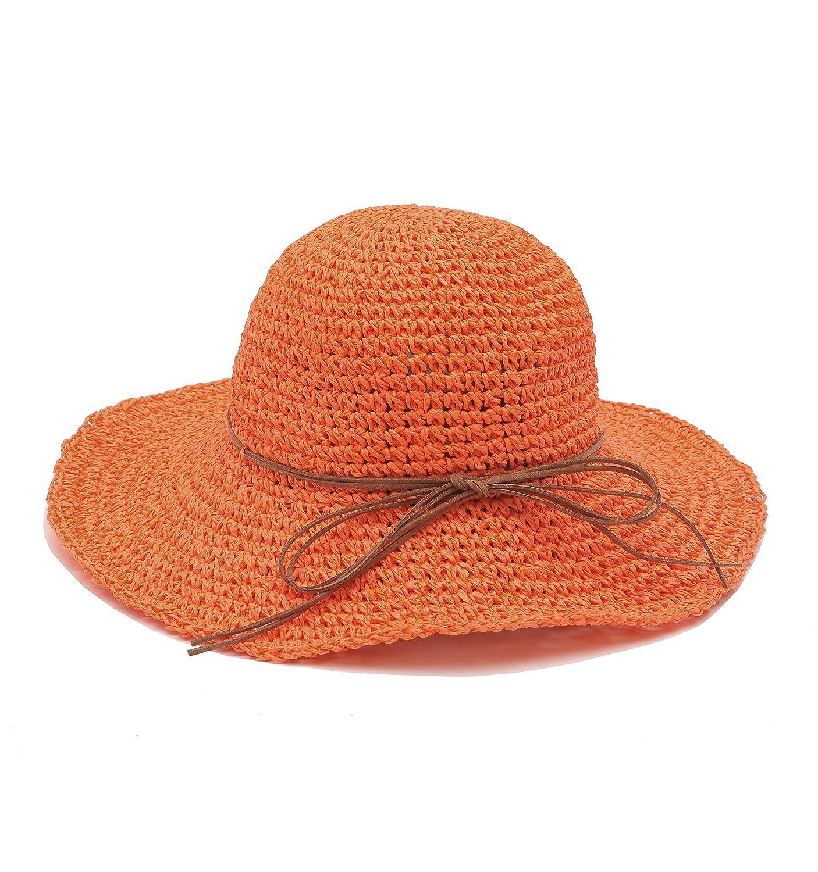 Urban GoCo Sombrero del sol Plegable Flexible para la Playa en el Verano  para Mujeres LSA ed3ee578f2b