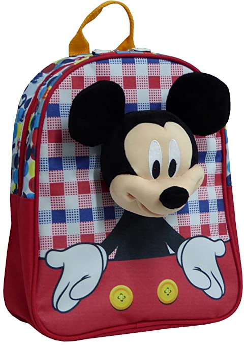Toy Bags Mochila Infantil Mickey Mouse 033/Mochila Disney Mickey Mouse Talking Mickey Parlanchín