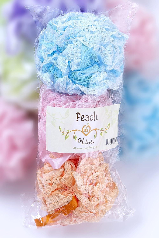 Amazon.com: Bath Sponges -Premium Quality Loofah -(3 in 1)- For your ...