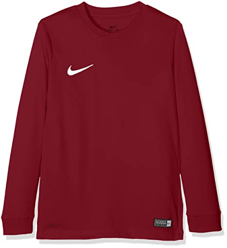 0a57bfc0147 Nike Park VI LS Jersey Junior  Amazon.co.uk  Sports   Outdoors