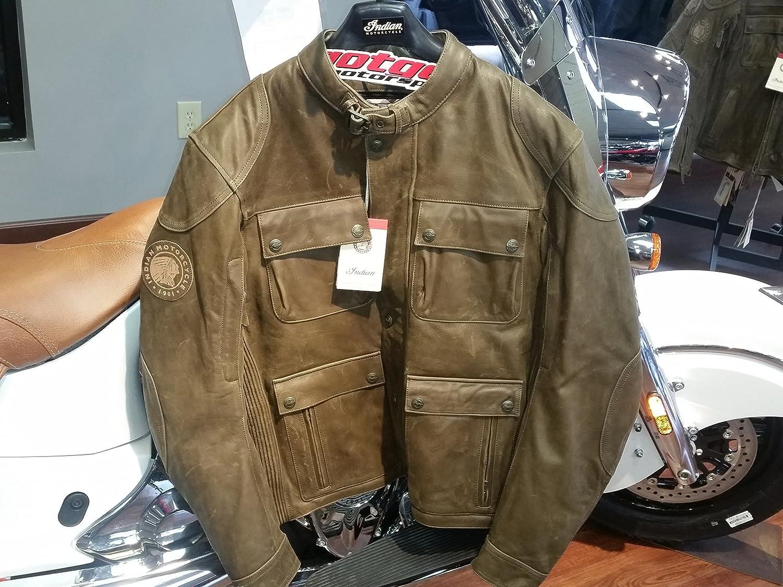 純正 INDIAN MOTORCYCLE メンズ レザー スエード「ベンジャミン ジャケット」 2XL 286370312   B017O79G7O
