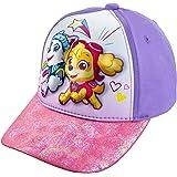 Nickelodeon Girls' Paw Patrol Cotton Baseball Cap Hat - Toddler 2-5 [6014] Purple/Pink