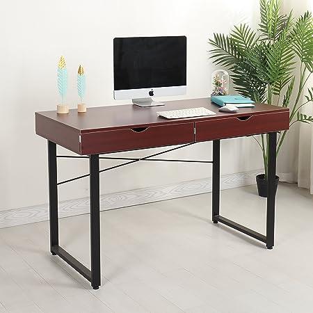 Mr IRONSTONE® - Mesa de ordenador moderna, escritorio, estación de ...