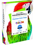 Hammermill Paper, Premium Color Copy, 32lb, 8.5 x 11, Letter, 100 Bright, 500 Sheets/1 Ream (102630), Made in the USA