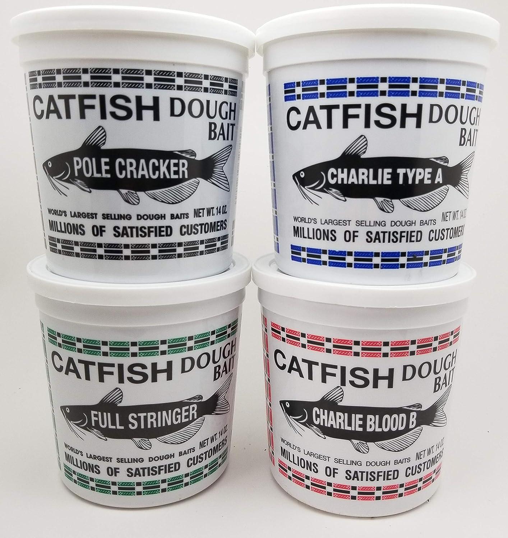 Catfish Charlie Dough Bait Variety Pack